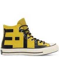 "Converse - Hohe Sneakers Aus Leder ""chuck 70"" - Lyst"