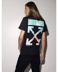 Off-White c/o Virgil Abloh - Lvr Exclusive Printed Cotton T-shirt - Lyst