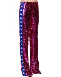 Faith Connexion - Kappa Sequined Track Pants - Lyst