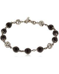 Marco Dal Maso - Fu Bracelet With Onyx - Lyst