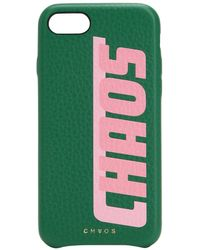 Chaos - Printed Leather Iphone 7/8 Cover - Lyst
