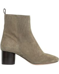Isabel Marant   Etoile 60mm Deyissa Suede Boots   Lyst