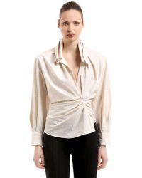 Jacquemus - La Chemise Belem Cotton & Linen Shirt - Lyst