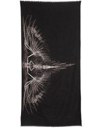 Marcelo Burlon - Antofalla Printed Wool Knit Scarf - Lyst