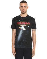 "Maison Margiela - T-shirt ""ufo"" In Jersey Di Cotone - Lyst"