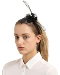 Scha - Flower Small Hb Headband W/ Ties - Lyst