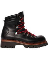 DSquared² - 50mm Leather Hiking Boots - Lyst