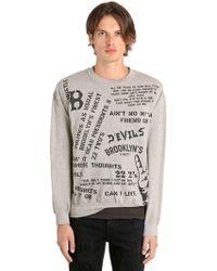 MadeWorn - 22 2's Jay Z Printed Cotton Sweatshirt - Lyst