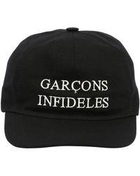 Garçons Infideles - Cotton Canvas Baseball Hat - Lyst