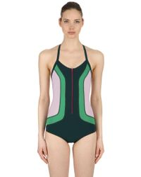 Isabel Marant - Toan Color Block Stretch Bodysuit - Lyst