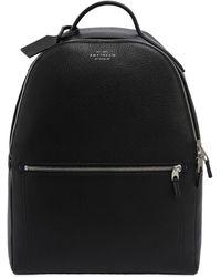 Smythson - Burlington Soft Leather Backpack - Lyst
