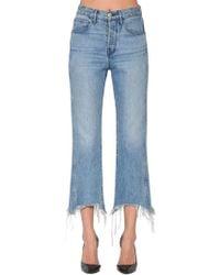 3x1 - Shelter Crop Cotton Denim Jeans - Lyst
