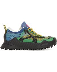 Off-White c/o Virgil Abloh Odsy Low Top Sneakers - Green