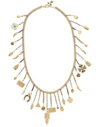 Rosantica - Malocchio Necklace W/ Lucky Charms - Lyst