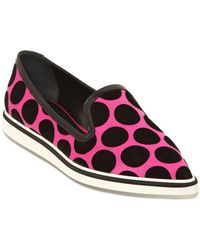 Nicholas Kirkwood - 20mm Alona Polka Dot Satin Trainers - Lyst