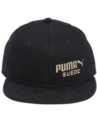 Puma Select - Archive Suede Cotton Baseball Hat - Lyst