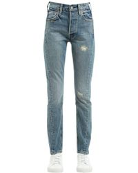 Levi's   Altered 501 Skinny Cotton Denim Jeans   Lyst