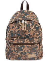 Eastpak - 24l Camouflage Suede Backpack - Lyst