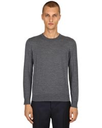 Z Zegna - Lightweight Merino Wool Knit Jumper - Lyst