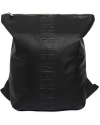 Bikkembergs - Army Faux Leather Backpack Sac - Lyst