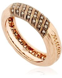 Marco Dal Maso - The Other Half Rose Gold Ring - Lyst