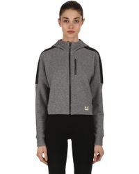 Under Armour - Perpetual Spacer Cotton Blend Sweatshirt - Lyst