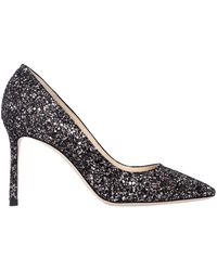 Jimmy Choo - 85mm Romy Glittered Pumps - Lyst