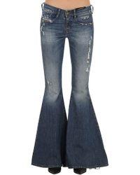 f8c09d32 Women's DIESEL Wide-leg jeans Online Sale - Lyst