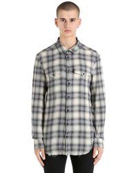 Garçons Infideles - Camicia In Cotone Check - Lyst