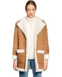 Forte Couture | Cappotto In Eco Shearling | Lyst
