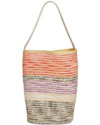 Missoni - Straw Blend Top Handle Bag - Lyst
