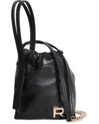 Rochas - Mini Leather Bucket Bag - Lyst