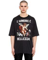 Dolce & Gabbana - Oversize Amore È Bellezza Jersey T-shirt - Lyst