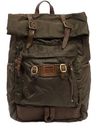 Campomaggi - Nylon & Leather Backpack - Lyst