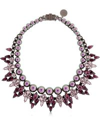 Ellen Conde - Brilliant Jewelry Crystal Necklace - Lyst