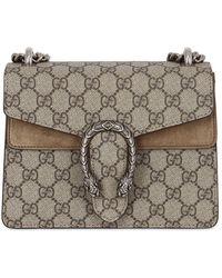 00e0e1d76 Gucci - Mini Dionysus Gg Supreme Shoulder Bag - Lyst