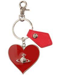 Vivienne Westwood Mirror Heart Key Holder