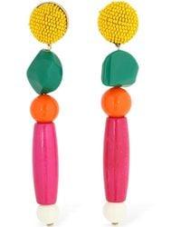 Shourouk - Medee Multi Colour Earrings - Lyst