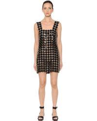 Paco Rabanne - Soft Plastic & Leather Discs Dress - Lyst
