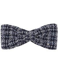 Maison Michel - Sybille Tweed Headband - Lyst