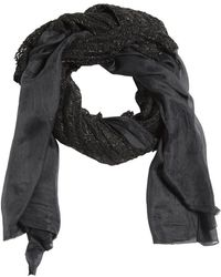 Cutuli Cult - Modal Scarf W/ Leather Details - Lyst