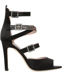 SJP by Sarah Jessica Parker - 100mm Fugue Strappy Satin Sandals - Lyst