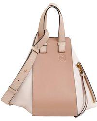 Loewe - Small Hammock Leather Bag - Lyst