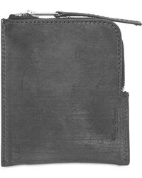 Rick Owens | Zipped Leather Wallet | Lyst