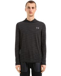 Under Armour - Threadborne Seamless Hooded Sweatshirt - Lyst