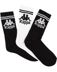 Kappa - 3 Pairs Of Socks - Lyst