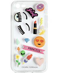 Chiara Ferragni - Cover Iphone7 Con Stickers - Lyst