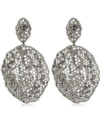 Aurelie Bidermann - Lace Dentelle Earrings - Lyst