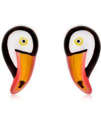 Nach - Mini Toucan Stud Earrings - Lyst
