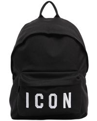 DSquared² | Icon Patches Nylon Canvas Backpack | Lyst